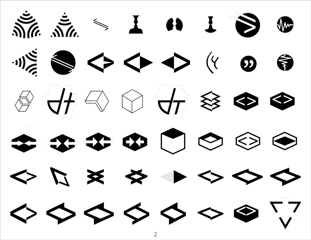 digital logo sketches